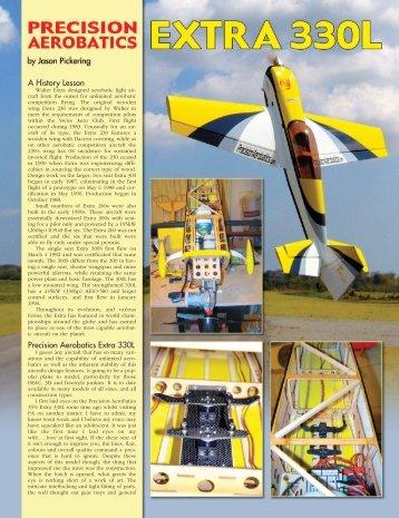 A History Lesson Precision Aerobatics Extra 330L