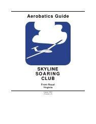 Aerobatics Guide SKYLINE SOARING CLUB