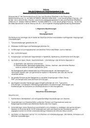 VERGNÜGUNGSSTEUERSATZUNG ab 01.01.2011 - Sprockhövel