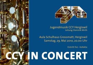 Jugendmusik CCY Hergiswil