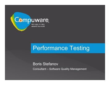 6. Performance Testing Overview - SQLadria