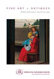 fine art + antiques - Bruun Rasmussen