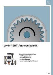 drylin® SHT-Antriebstechnik - Igus