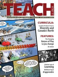 Diversity and Canada's North Learning - TEACH Magazine