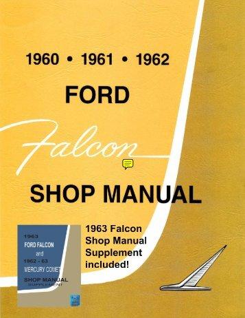 DEMO - 1960-63 Ford Falcon Shop Manual - ForelPublishing.com