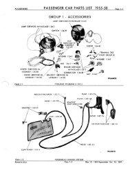 1965 Mopar Passenger Car Parts Catalog