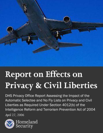 Report: No Fly - Homeland Security