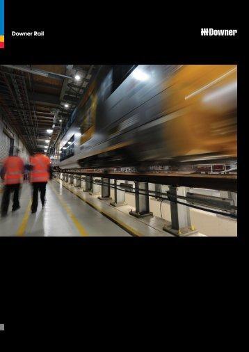 Downer Rail Brochure - Downer Group