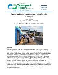 Evaluating Public Transportation Health Benefits [PDF] - American ...