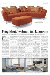 Wohnen in Harmonie - Feng Shui