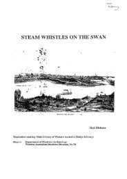 STEAM WHISTLES ON THE SWAN - Western Australian Museum