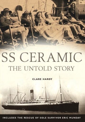 E-Book - SS Ceramic the untold story by Clare Hardy