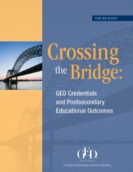 Crossing the Bridge - GED Testing Service
