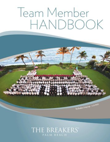 The Breakers Team Member Handbook CURRENT