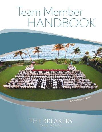 The Breakers Team Member Handbook CURRENT