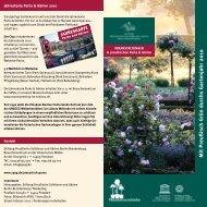 JAHRESKARTE - Stiftung Preußische Schlösser und Gärten