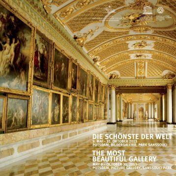 Flyer zur Ausstellung - Stiftung Preußische Schlösser und Gärten