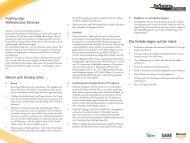 Microsoft Hosting Broschüre - Software-Express GmbH & Co. KG