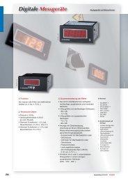 Digitale Messgeräte - Socomec