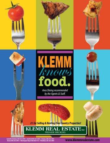 restaurants (pdf) - Klemm Real Estate, Inc.