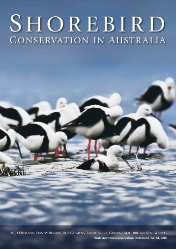 Shorebird Conservation in Australia 2009 - Birdlife - Birds Australia
