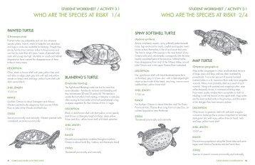 Student Worksheets Pg 51-62 - Toronto Zoo