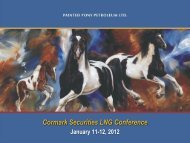 Cormark Securities LNG Conference - Painted Pony Petroleum Ltd.