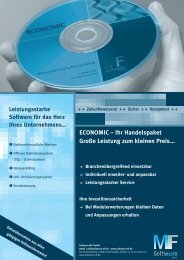 Download Flyer Economic Holzhandelspaket - Software MF GmbH