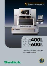 AQ400L AQ600L - Sodick Europe Ltd.