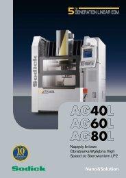 AG40L AG60L AG80L - Sodick