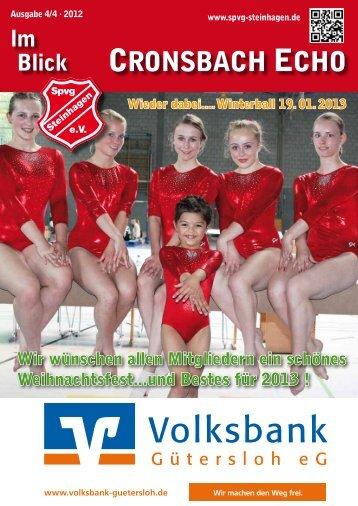 CRONSBACH ECHO - Sportvereinigung Steinhagen e.V.