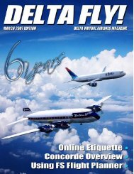 Page 1 March 2007 - Delta Virtual Airlines
