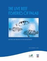 The Live Reef Fisheries of Palau - Friends of Tobi Island