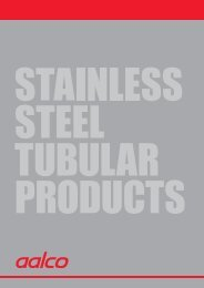 Aalco Stainless Steel Tubular Products