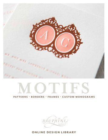 motifs - Dauphine Press
