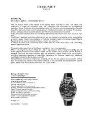 Dandy Arty Open Face Edition - Ornamental Stones - Agenhor