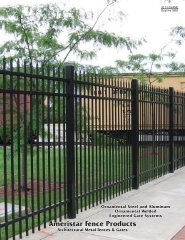 Ameristar Fence Products - Sweets