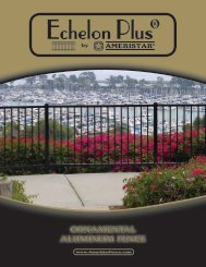 ORNAMENTAL ALUMINUM FENCE - All-State Fence & Supply