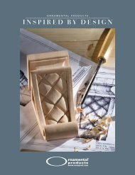 INSPIRED B Y DESIGN - Ornamental Products