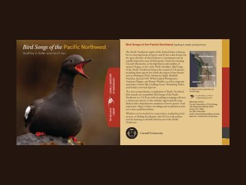 Pacifific Northwest Bird Songs of the Pacific Northwest