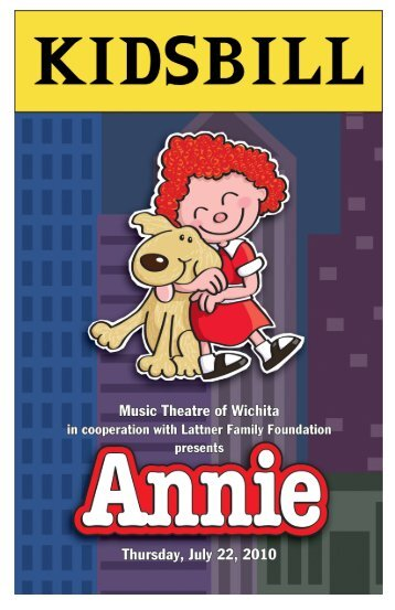 Annie - Music Theatre of Wichita Broadway Rentals