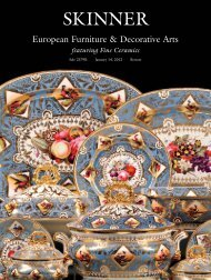 European Furniture & Decorative Arts - Skinner