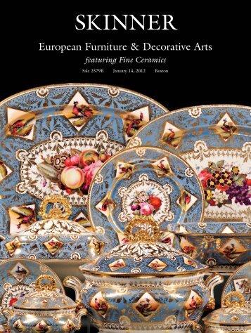 European Furniture & Decorative Arts - Skinner