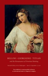 Bellini, Giorgione, Titian, and the Renaissance of Venetian Painting