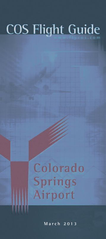 Colorado Springs Airport timetable