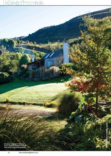 Annabel Langbein's Wanaka cabin nestles amongst ... - Warmington