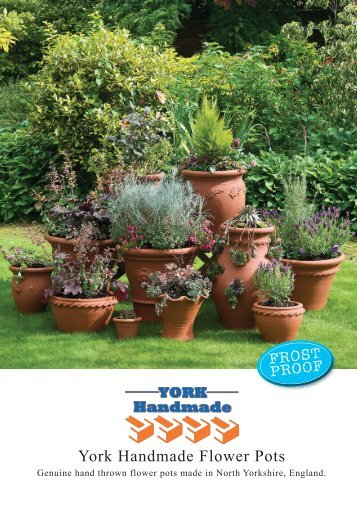 York Handmade Flower Pots