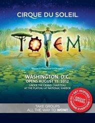 Opens august 15, 2012 - Cirque du Soleil