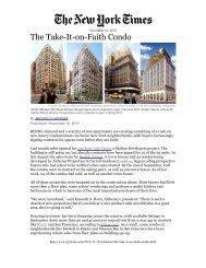 The Take-It-on-Faith Condo