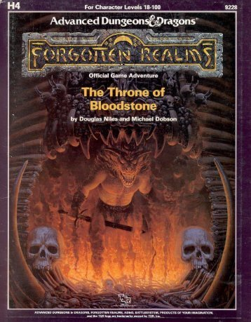 H4 The Throne of Bloodstone.pdf - Free